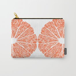 Grapefruit to Suit Carry-All Pouch