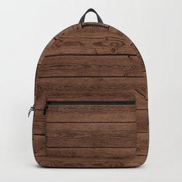 Reclaimed Floorboards Wood Pattern Backpack