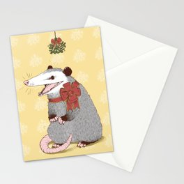 Christmas Kiss Stationery Cards