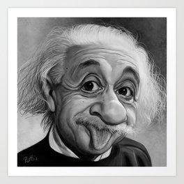 Playful Genius Art Print