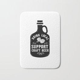 Craft Beer Craft Beer Drinker Ipa Beer Microbrewing Bath Mat