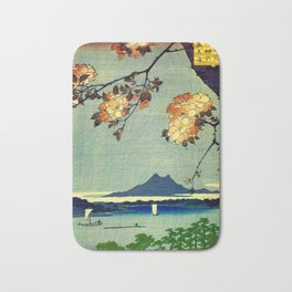 Hiroshige, Springtime In Japan, Thinking Of You Bath Mat