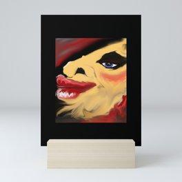 When Glam goes to POT! Mini Art Print