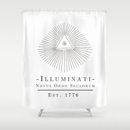 Illuminati Shower Curtain