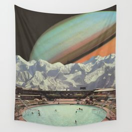 Saturn Spa Wall Tapestry