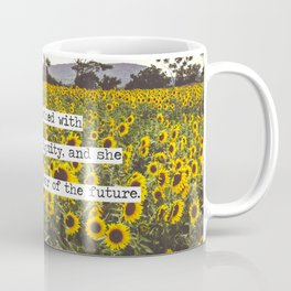 She is clothed with strength and dignity Coffee Mug