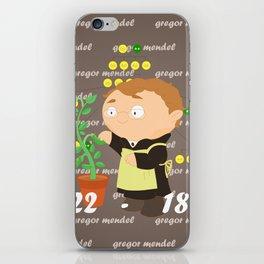 Gregor Mendel iPhone Skin