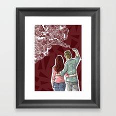 Painting dream Framed Art Print
