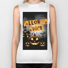Halloween Night Biker Tank