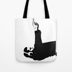 Kittappa Series #1 - Shooter (no ink splatter-original) Tote Bag