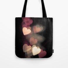 Valentine in pink Tote Bag
