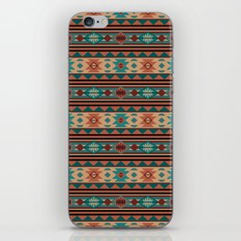 Southwest Design Turquoise Terracotta iPhone Skin