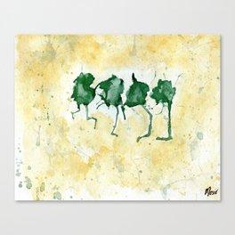 Dancing Frogs Canvas Print