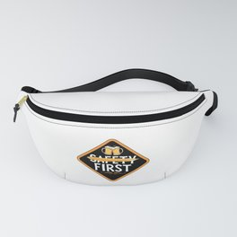 Beer Before Safety First for Beer Lover Fanny Pack