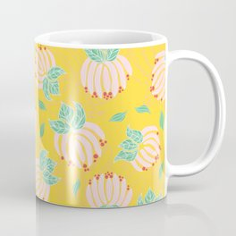 Blush Bloom Peony Lemon Coffee Mug