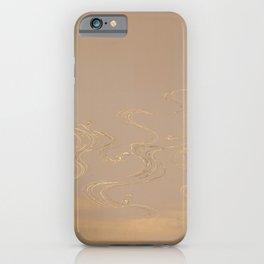 Kamisaka Sekka - Bamboo and Waves 5 iPhone Case