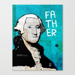 U.S. Presidents: George Washington Canvas Print