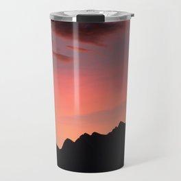 Autumn sunset Travel Mug