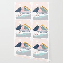 Minimalistic Landscape Wallpaper