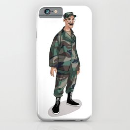 I'm going to Army iPhone Case