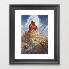 Lay More, Squawk Less Framed Art Print