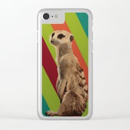Keeping Watch Clear iPhone Case
