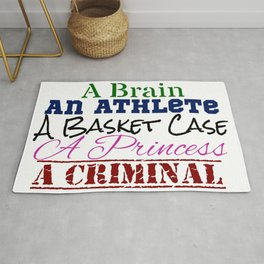 Breakfast Club Convenient Definitions Rug