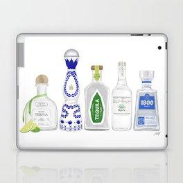 Tequila Bottles Illustration Laptop & iPad Skin