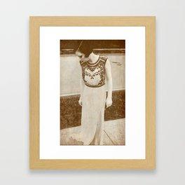 She Was A Spy... Framed Art Print
