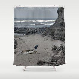 Long Haul Shower Curtain