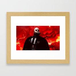 Vader/Mustafar 2 Framed Art Print