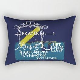Let Them Gasp Rectangular Pillow