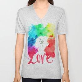 Love Kiss Unisex V-Neck