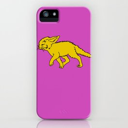 The Sly Fennec Fox iPhone Case