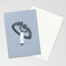 Raining 2 Stationery Cards