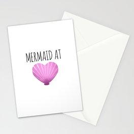 Mermaid At Heart Stationery Cards