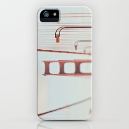 Golden Gate Bridge. A Memory San Francisco iPhone Case