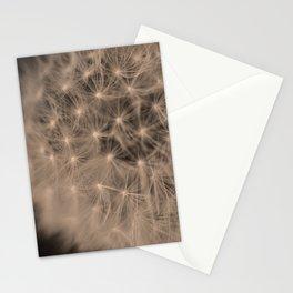 Macro Dandelion Fine Art Photography Stationery Cards