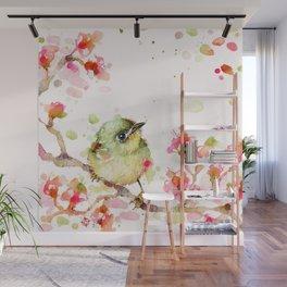 Mr Fluffy Pants (bird) Wall Mural