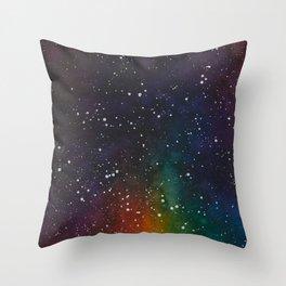 Skittles Stardust Throw Pillow