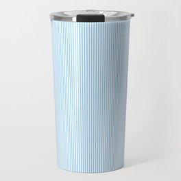 Seersucker Stripe Pattern Travel Mug