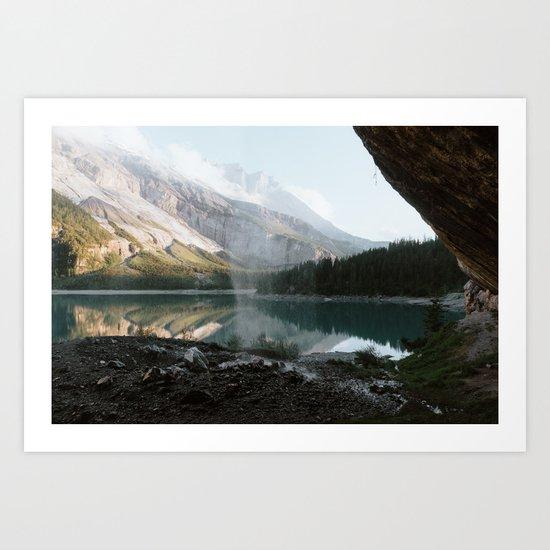 Mountain Lake Vibes III - Landscape Photography Art Print