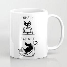 Inhale Exhale Husky Coffee Mug