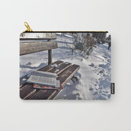 Winter in park Carry-All Pouch