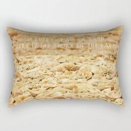 In every grain of sand Rectangular Pillow