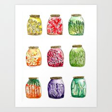 Getting Canned Never Looked So Good Art Print