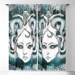 Winter Gorgon - Light Blackout Curtain