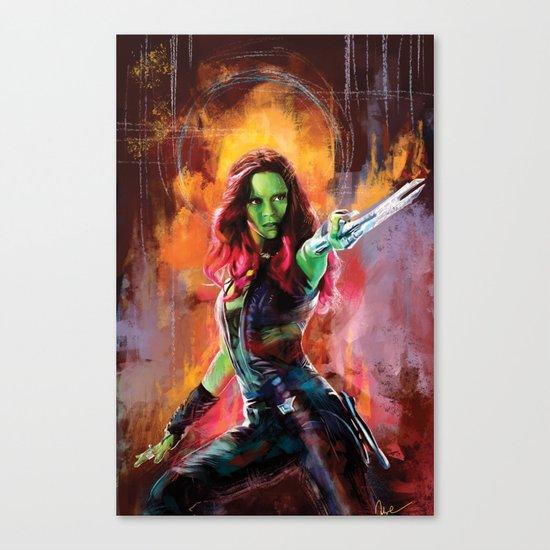 Gamora Canvas Print