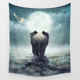 Guide You Through the Darkness Wall Tapestry