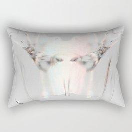 Splitting Hairs Rectangular Pillow